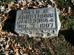 Mollie M <I>Stout</I> Armstrong