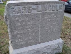 Henrietta W <I>Lincoln</I> Bass