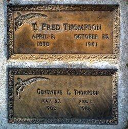 Genevieve Lillian <I>Langabeer</I> Thompson