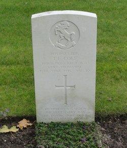 Lance Bombardier Thomas Frederick Cole