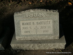 Mamie Agnes <I>Brantley</I> Bartlett