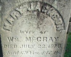 Mary <I>Jackson</I> McCray