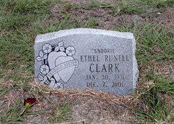 "Ethel ""Snookie"" <I>Runell</I> Clark"