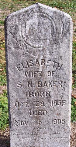 Elisabeth <I>Long</I> Baker