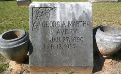 Georgia Martha <I>Morris</I> Avery