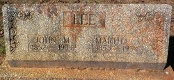 John Marion Lee, Sr