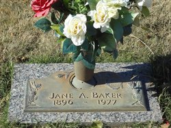 Jane A Baker