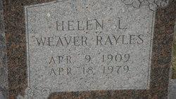 Helen L <I>Ricker</I> Rayles