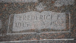 Frederice Eugene Wellman