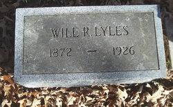 """William R. """"Will"""" Lyles"""