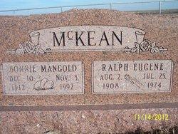 Bonnie Laura <I>Mangold</I> McKean
