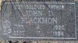 John D Blackmon
