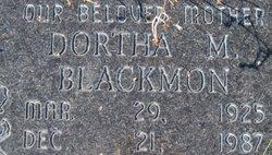 Dortha M Blackmon