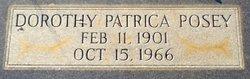 Dorothy Patricia Posey