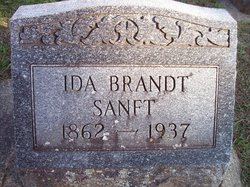 Ida <I>Brandt</I> Sanft
