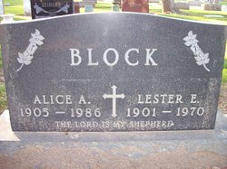 Lester E Block