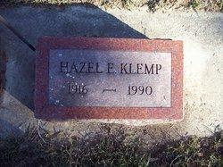 Hazel E Klemp