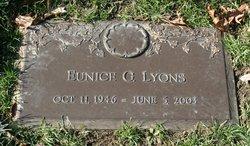 Eunice G. <I>Stanger</I> Lyons