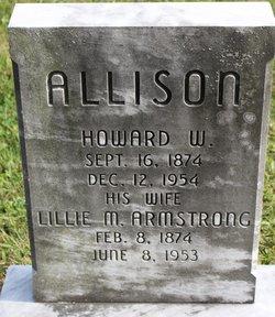 Lillie M <I>Armstrong</I> Allison