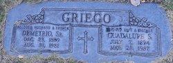 Demetrio Griego, Sr