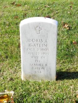 Doris Lorena <I>Broughton</I> Gatlin