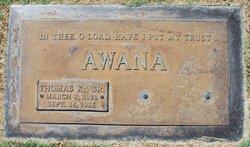 Thomas K Awana, Sr