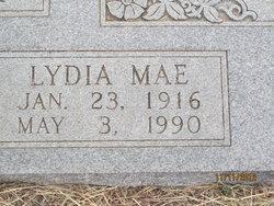 Lydia Mae <I>Kight</I> Tyler
