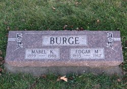 Mabel Katherine <I>Hoffman</I> Burge