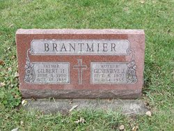 Genevieve Josephine <I>Otto</I> Brantmier