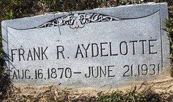 Frank R Aydelotte