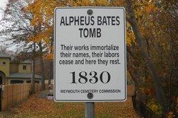 Alpheus Bates Tomb
