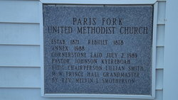 Paris Fork United Methodist Church Cemetery