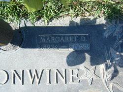 Margaret <I>Donaldson</I> Cantonwine