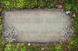 Nettie <I>Lee</I> Arnold