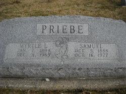 Myrtle L. <I>Whitecotton</I> Priebe