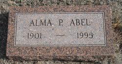 Alma Pearl <I>Simmonds</I> Abel