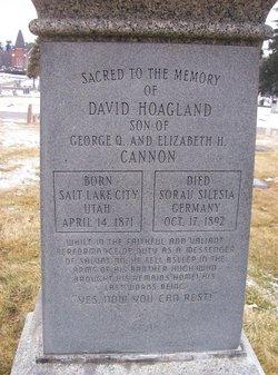 David Hoagland Cannon