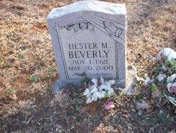 Hester Mae <I>Carter</I> Beverly