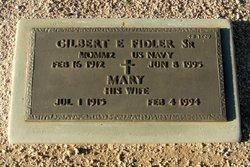 Gilbert E Fidler, Sr