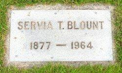 Servia <I>Thomas</I> Blount