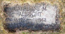 Catherine <I>Manke</I> Albright
