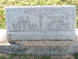 Malinda Jane <I>Younger</I> Adams
