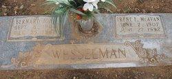 Irene F. <I>McAvan</I> Wesselman
