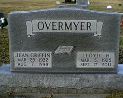 Jean <I>Griffin</I> Overmyer