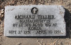"Lieut Richard ""Dick"" Tellier"
