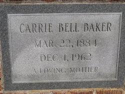 Carrie <I>Bell</I> Baker