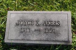 Joyce K Akers
