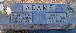 W. Gratton Adams