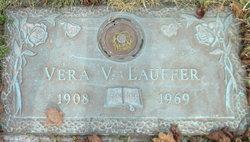 Vera V <I>Canfield</I> Lauffer
