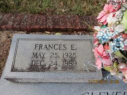 Frances <I>Sosebee</I> Cleveland